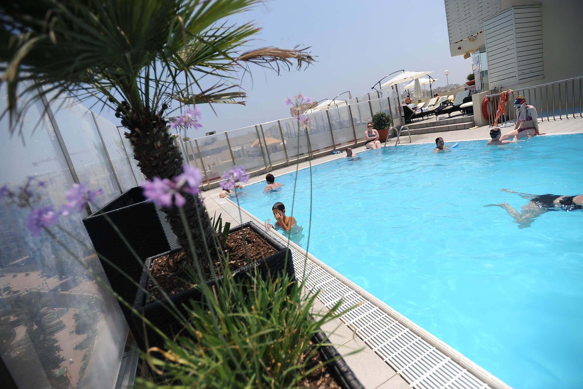 Plaza Regency Hotel outdoor pool