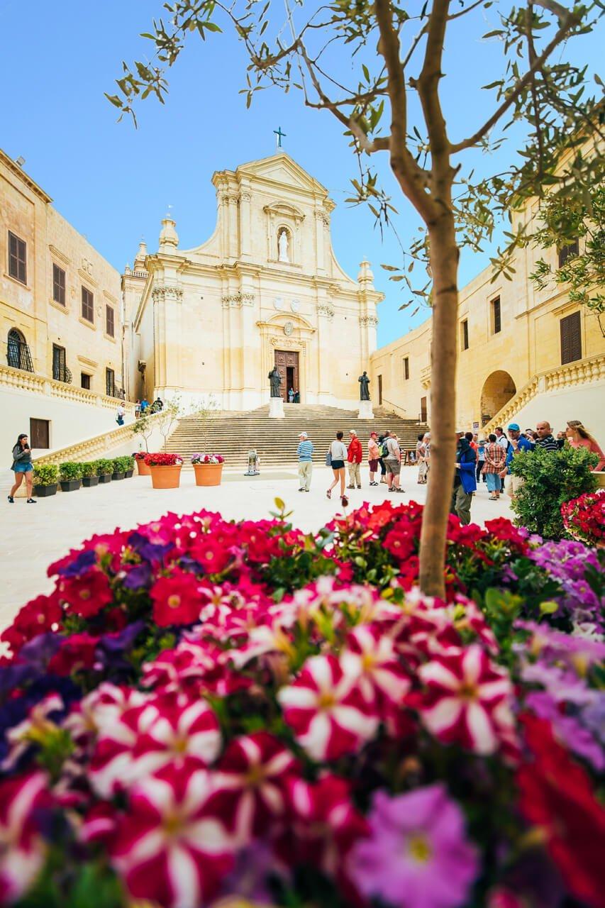 Inside Gozo's Old Citadel
