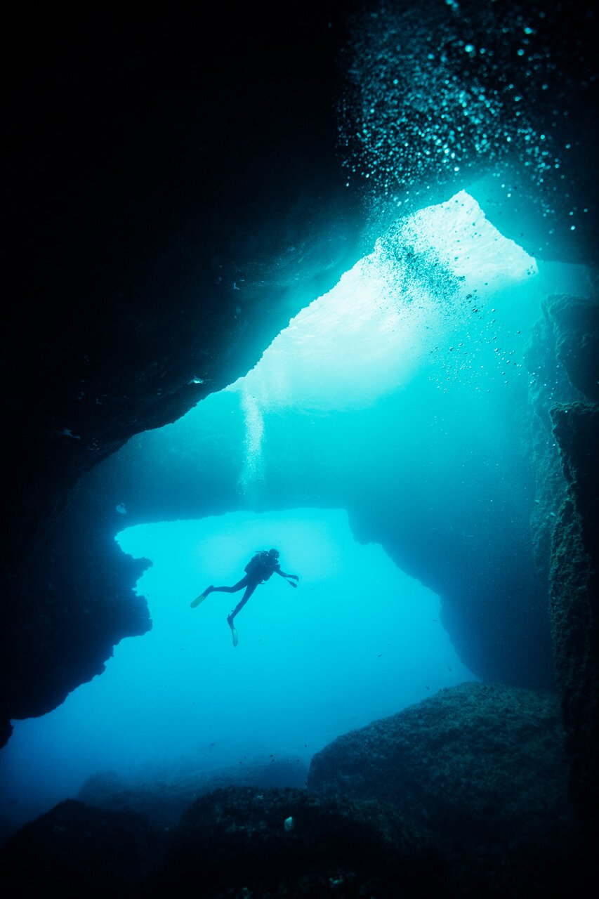Diving Blue Hole Gozo