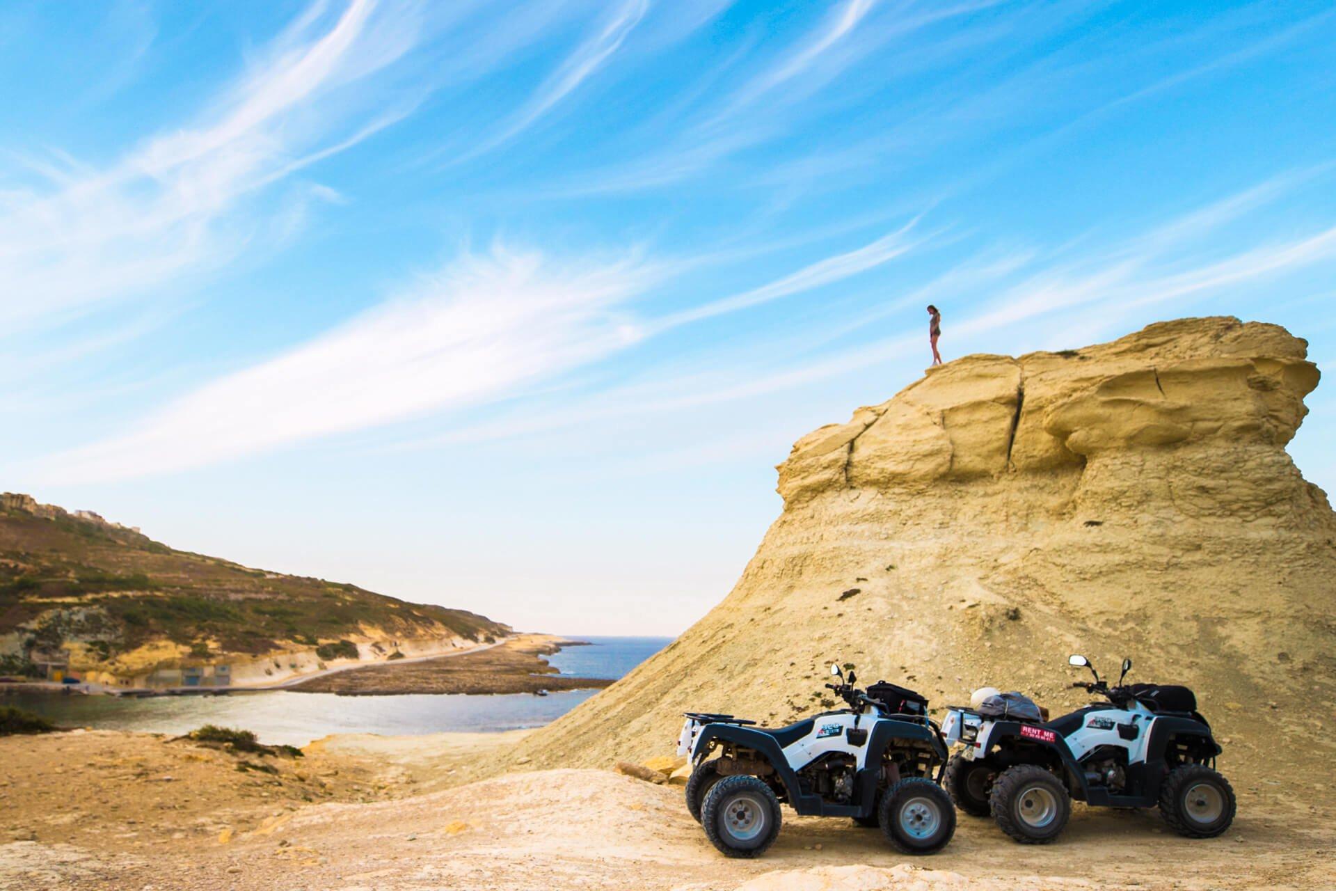 Quad biking in Gozo