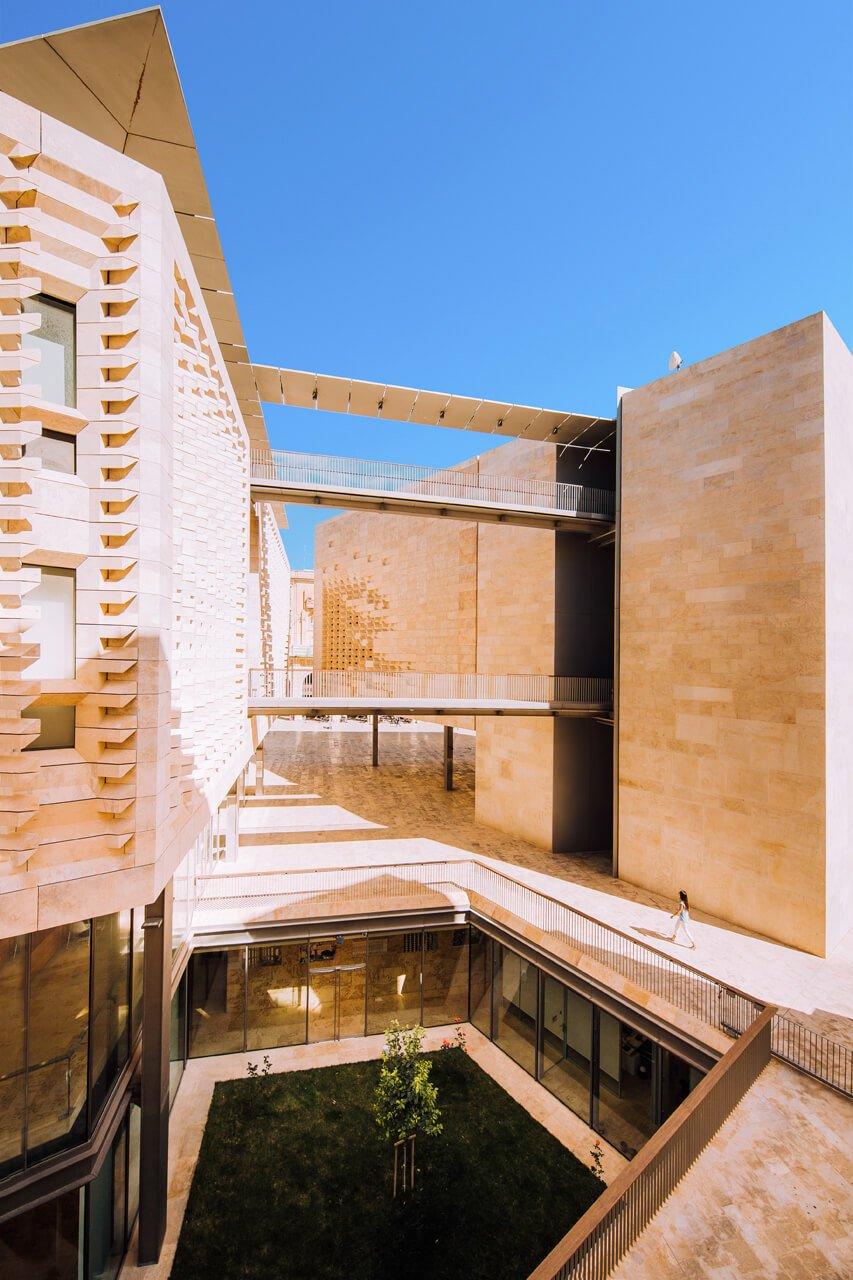 Renzo Piano designed Parliament House, Valletta