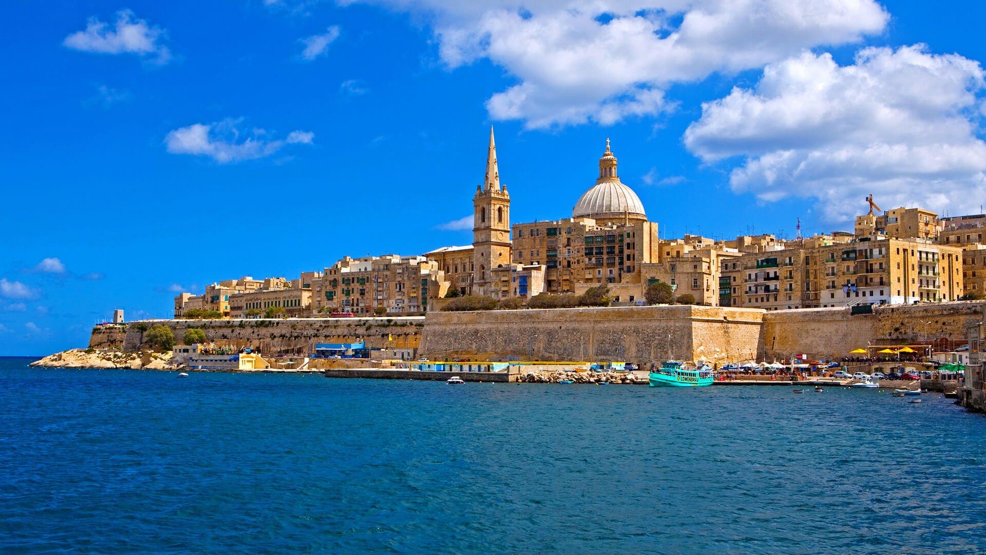 View of Valletta