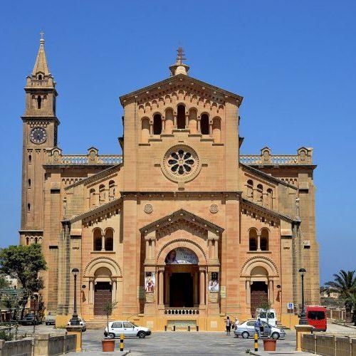 Ta' Pinu Shrine in Gozo
