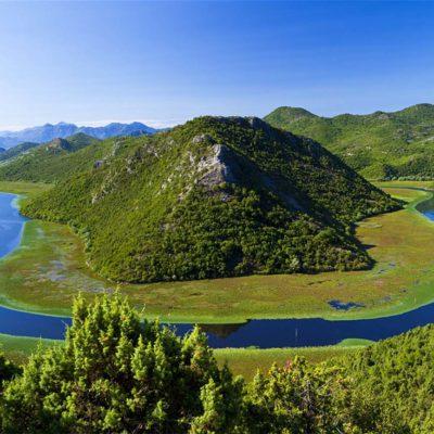 National park Lake Skadar Montenegro