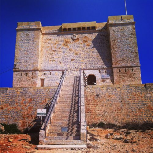 Saint Mary's Tower Comino