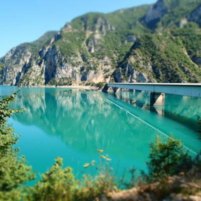 Bridge at Pluzine Durmitor National Park Montenegro