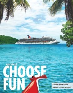 Carnival Cruise Brochure 2020